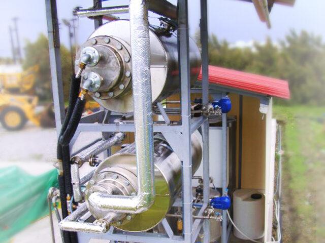 The prototype brine treatment system of Sol-Brine